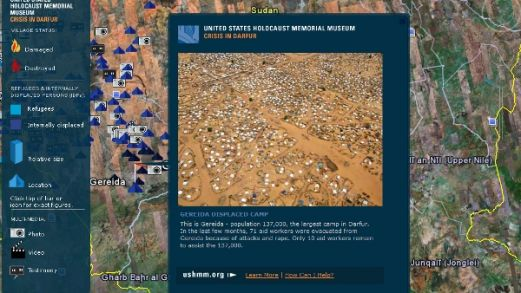 Crisis in Darfur, a mapping initiative by the United States Holocaust Memorial Museum