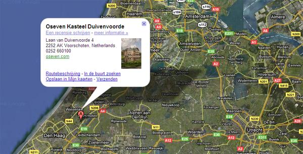Duivenvoorde Google Maps