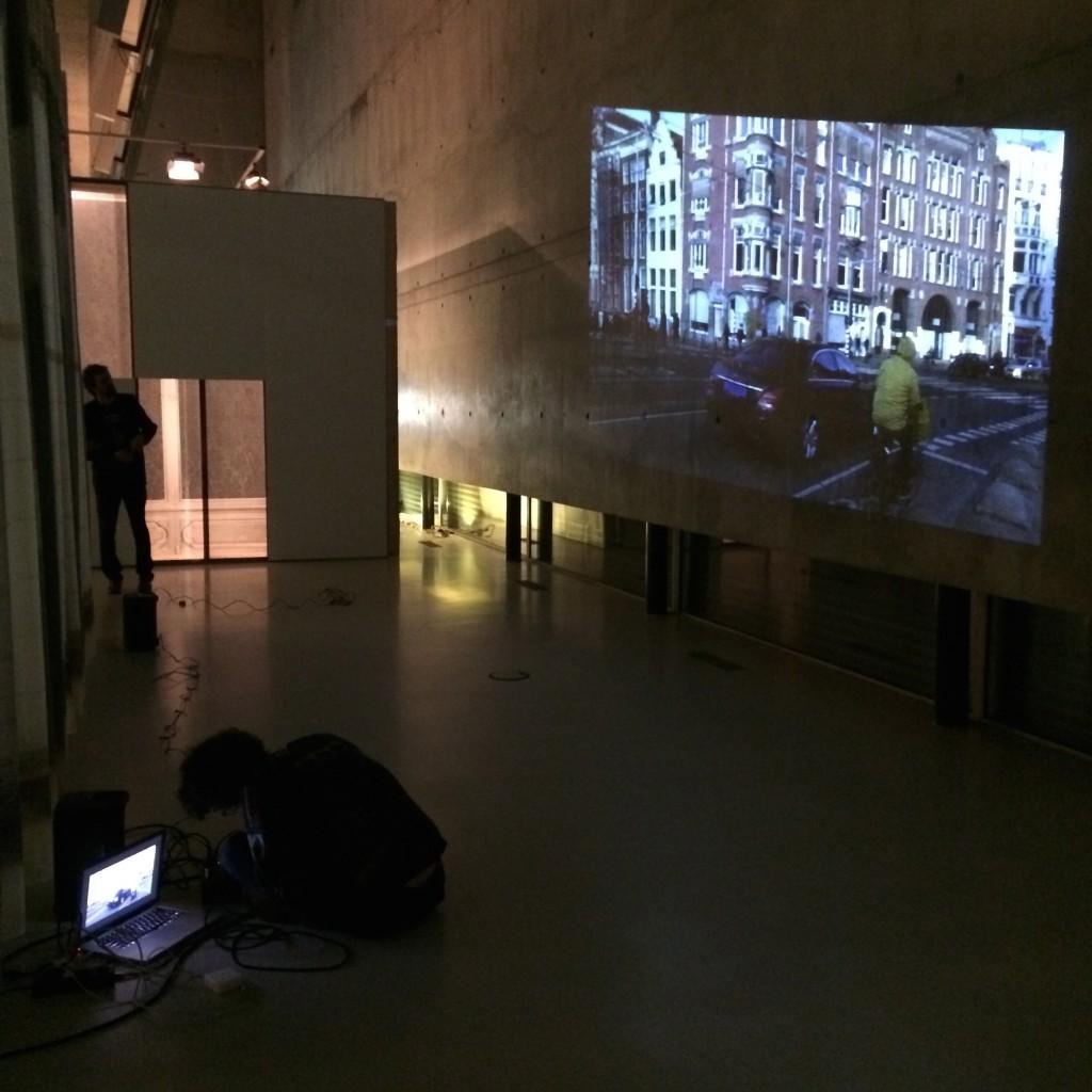 projection Nieuwe Instituut