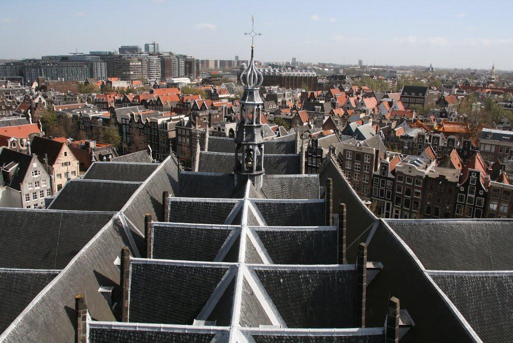 Oude Kerk roof